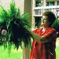 Lois Warren, Holiday Village Resident